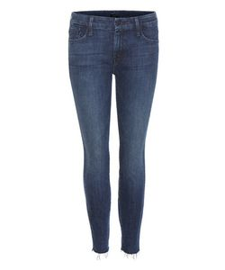Mother | The Looker Ankle Fray Skinny Jeans