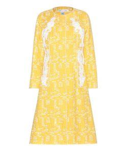Oscar de la Renta | Embellished Cotton-Blend Coat