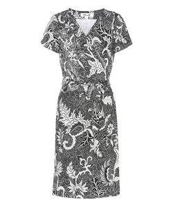 Diane von Furstenberg | New Julian Silk Short Sleeve Wrap Dress