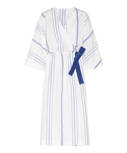 Loewe | And Cotton And Linen Wrap Dress