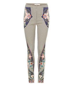 Mary Katrantzou   Labyrinth Embroide Skinny Trousers