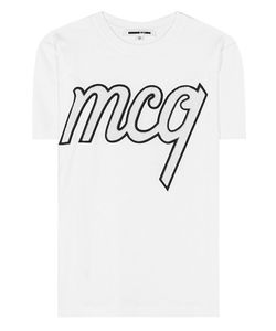 McQ | Embellished Cotton T-Shirt