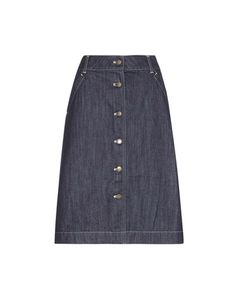 Tomas Maier | Denim Skirt