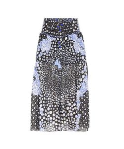 Poupette St Barth | Printed Silk Skirt