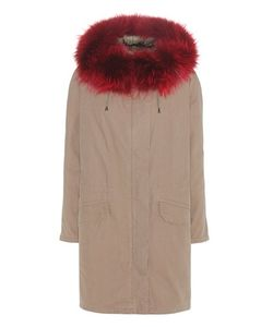Army Yves Salomon | Cotton Parka With Fur