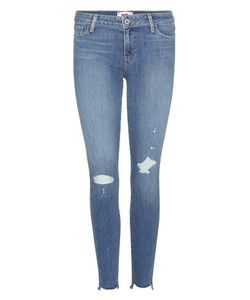 Paige | Verdugo Ankle Distressed Skinny Jeans