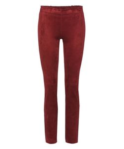 Stouls | Jacky Cropped Suede Trousers