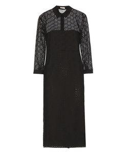 Nina Ricci | Broderie Anglaise Cotton Midi Dress