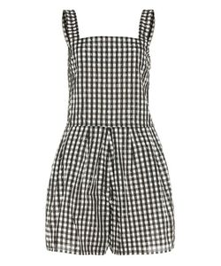 Shrimps | Thomas Checked Playsuit
