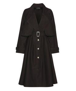 Vika Gazinskaya   Cotton Trench Coat
