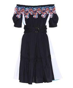 Peter Pilotto | Lace-Trimmed Cotton Dress