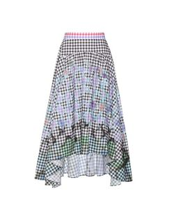 Peter Pilotto | Gingham Cotton Skirt