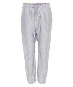 Lemlem | Mbali Harem Cotton And Silk Trousers