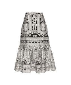 Erdem   Abbie Brocade Skirt