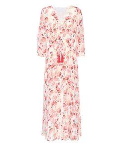 Athena Procopiou   -Printed Silk Dress