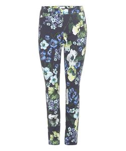Erdem | Sidney Printed Cotton-Blend Trousers