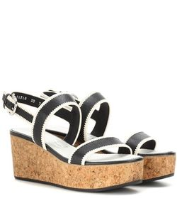 Salvatore Ferragamo | Emilia Leather Wedges