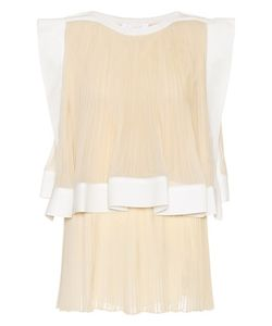 Chloé | Silk Blend Pleated Top