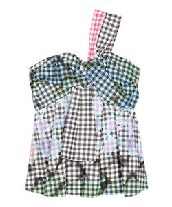 Peter Pilotto | Gingham Cotton Top