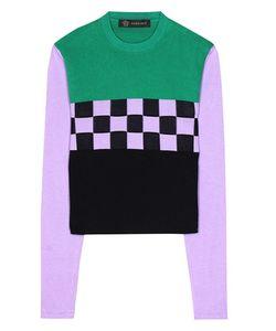Versace | Printed Cotton Top