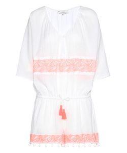 Heidi Klein | Embellished Cotton Jumpsuit