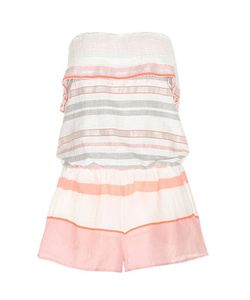 Lemlem | Safia Striped Cotton Playsuit