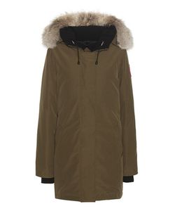 Canada Goose | Victoria Down Jacket With Fur-Trimmed Hood