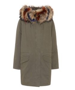 Army Yves Salomon | Fur-Trimmed Parka Coat
