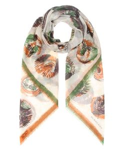 Burberry | Pallas Heads Printed Cotton Scarf