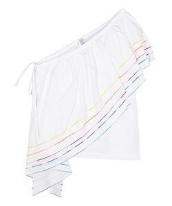 Rosie Assoulin | Wedge One-Shoulder Cotton Top