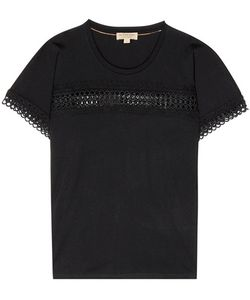 Burberry | Marnel Lace-Trimmed T-Shirt