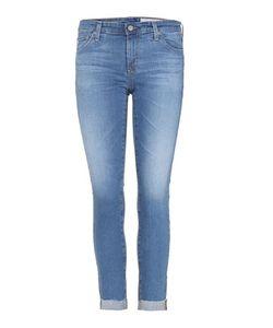 Ag Jeans | Stilt Roll-Up Cropped Denim Jeans