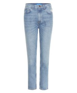 M.i.h Jeans | Mimi Distressed High-Rise Slim Jeans