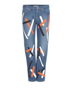 Christopher Kane | Embellished Cropped Denim Jeans