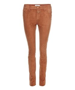 Closed | Lizzy Suede Skinny Trousers