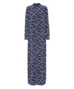 Equipment | Star-Printed Silk Shirt Dress