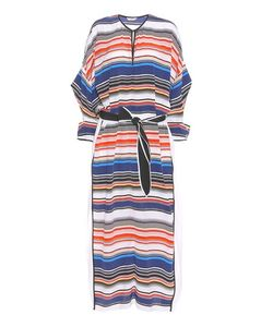 Edun | Striped Silk Kaftan Dress