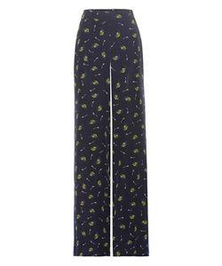 Dorothee Schumacher | Cosmic Fantasy Printed Silk Trousers