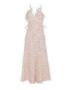 Rosie Assoulin | Tutti Frutti Striped Linen And Cotton Dress