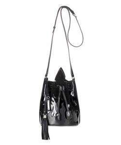 Saint Laurent | Leather And Suede Bucket Bag