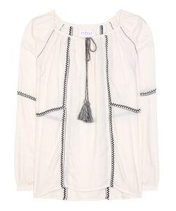 Velvet | Shavanni Cotton-Blend Tunic Topic
