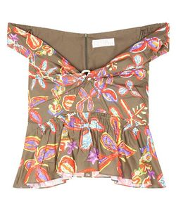 Peter Pilotto | Printed Cotton Top
