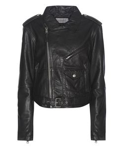 Calvin Klein Jeans | Exclusive To Leather Biker Jacket