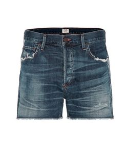 Citizens of Humanity | Cora Distressed High-Rise Denim Shorts