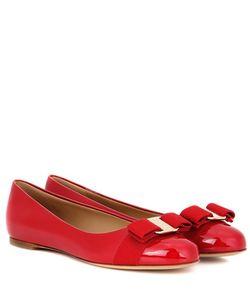 Salvatore Ferragamo | Varina Patent Leather Ballerinas