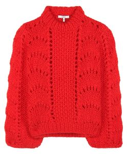 Ganni   Julliard Wool And Mohair Sweater