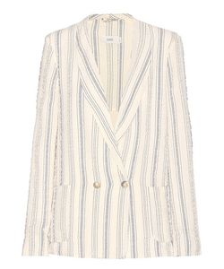 Closed | Striped Cotton Blazer