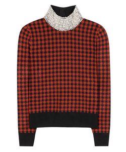 Ganni   Loras Plaid Sweater
