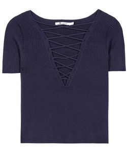 T by Alexander Wang   Cotton And Cashmere Top