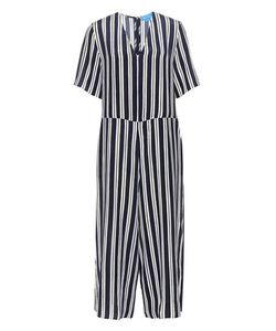 M.i.h Jeans | Hart Striped Silk Jumpsuit